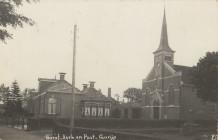 Greate Buorren - oude pastorie en oude kerk