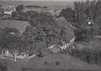 Luchtfoto boerderij 'Hoogstins'