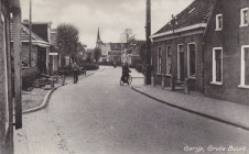 Gr.Buorren West - hoek smederij - 1951