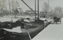 Eendrachtsweg - Skipfeart wintergezicht