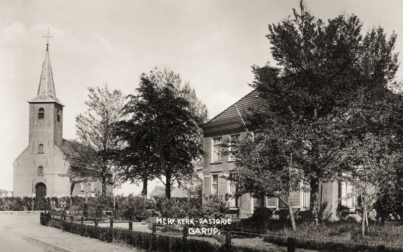 Westerein - Herv.Kerk met pastorie